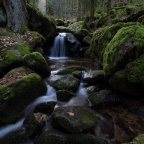 Märchenhafte Gertelbach-Wasserfälle bei Bühlertal