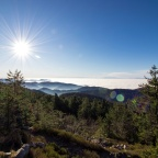 Nebelmeer und Wintersonne – Wanderung von Unterstmatt zur Hornisgrinde